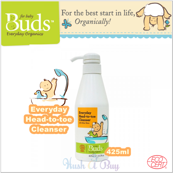 Buds Everyday Organic Baby Head to Toe Cleanser (425ml)