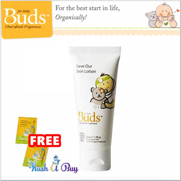 Buds BCO Organic Save Our Skin Lotion 50ml (Expiry : Mar / 2022 )