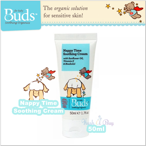 Buds Soothing Organic Nappy Time Soothing Cream 50ml