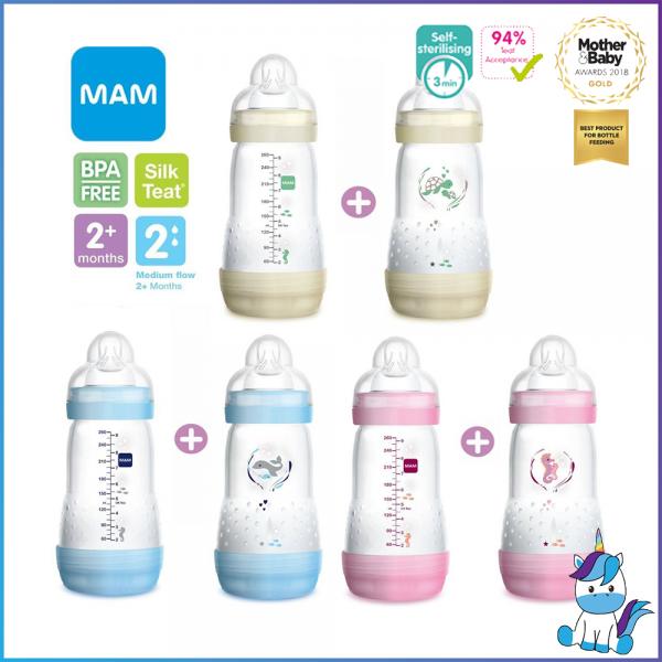 MAM Easy Start Anti-Colic Bottle 260ml - Double Pack