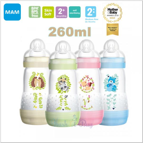 MAM Easy Start Anti-Colic Bottle 260ml - Single