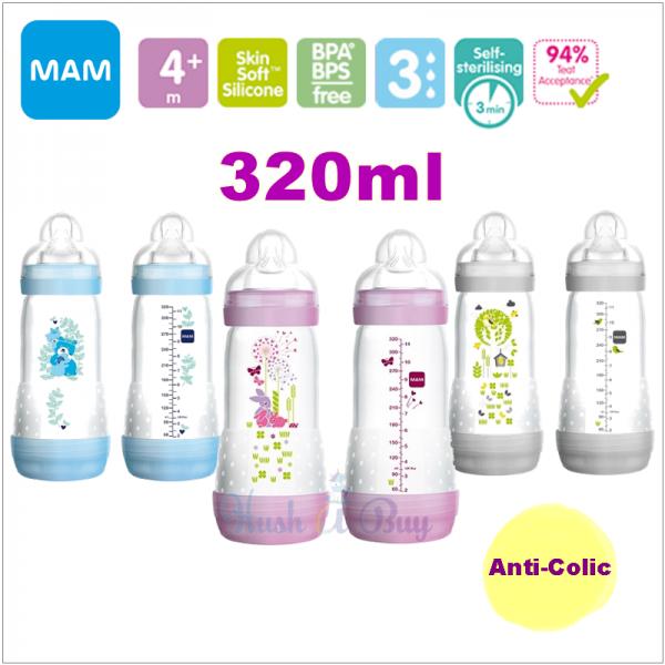 MAM Easy Start Anti-Colic Bottle 320ml - Double Pack