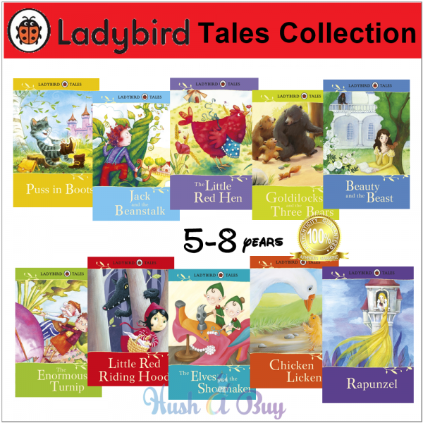 Ladybird Tales Collection 2 (10 Books)