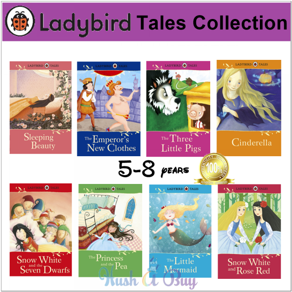 Ladybird Tales Collection 3 (8 Books)