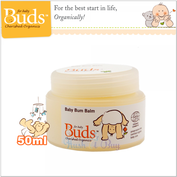 Buds BCO Baby Bum Balm 50ml ( Expiry : Aug / 2021 )