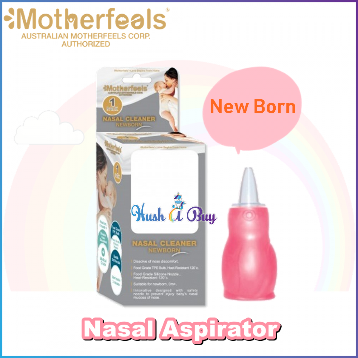 Motherfeels Nasal Aspirator or Nose Cleaner