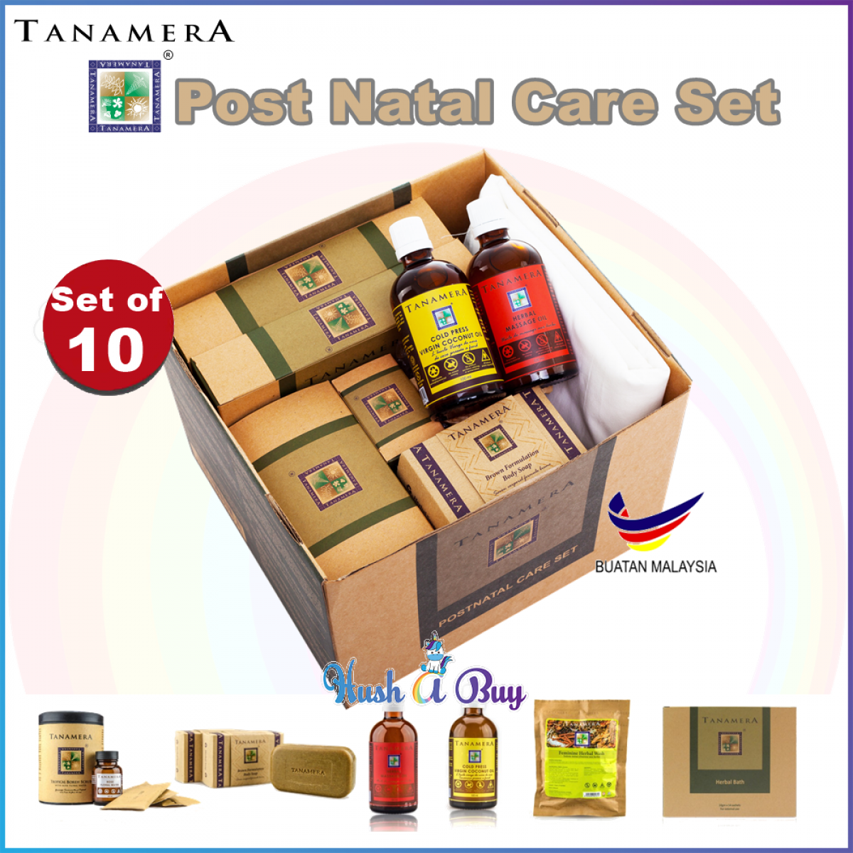 Tanamera Post Natal Care Set