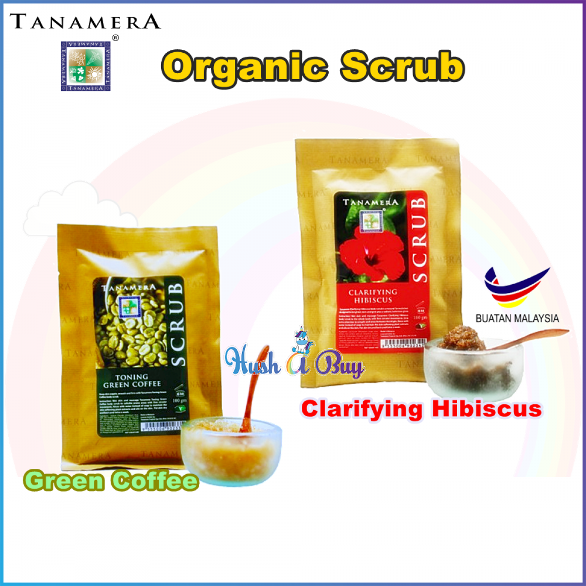 Tanamera Toning and Clarifying Scrub 100ml