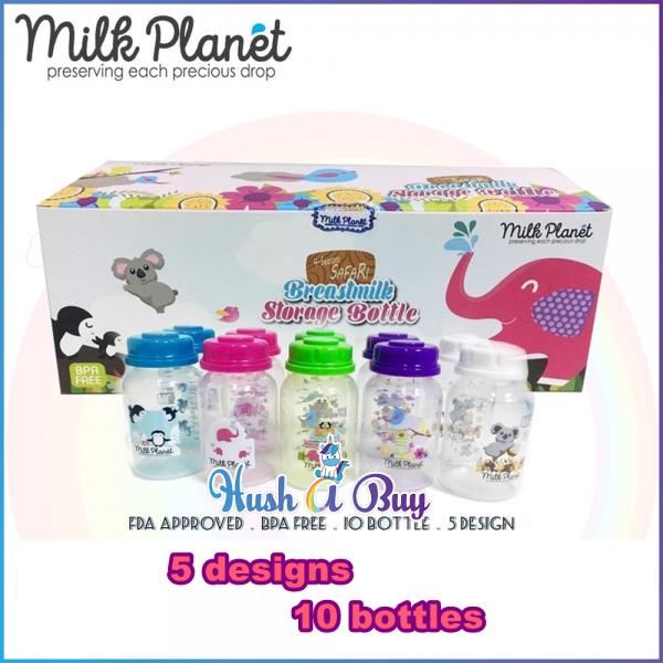 Milk Planet Storage Bottles 5oz (10 Bottles)
