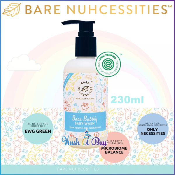Bare Nuhcessities Bubbly Baby Wash / Body Wash / Body Shampoo 230ml (Exp: May/2020)