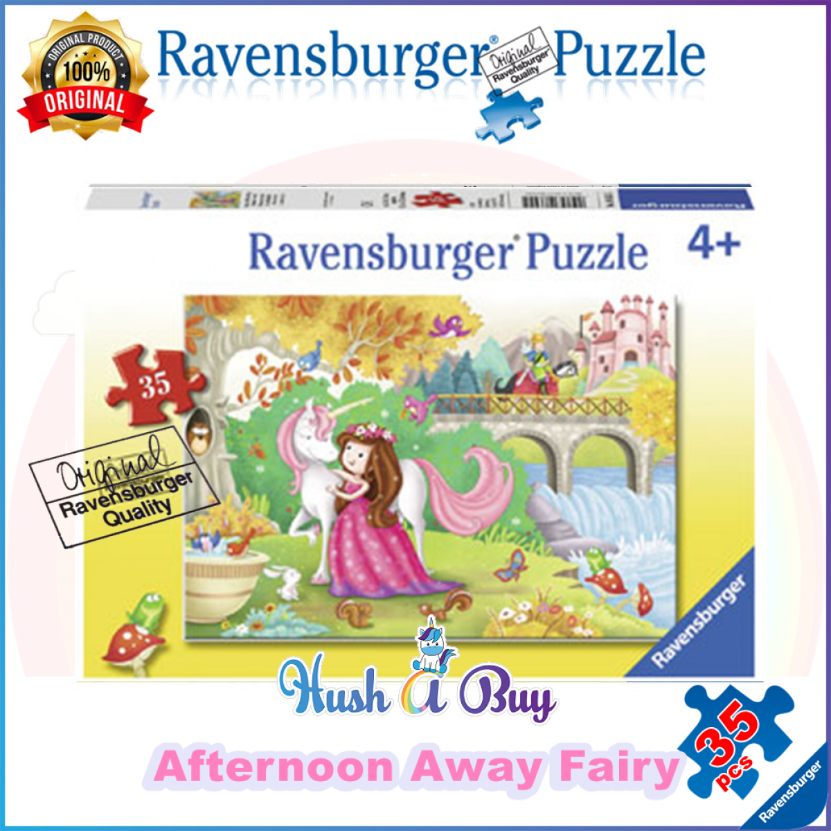Ravensburger Premium Puzzle 35pcs for 4+ Years (Authentic and Original)
