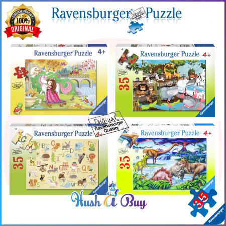 Ravensburger Premium Puzzle 35pcs for 4+ Years (Authentic and Original)