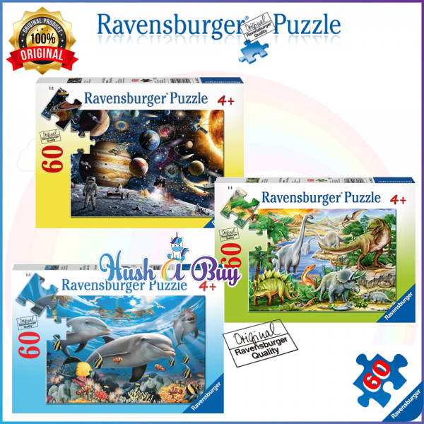 Ravensburger Premium Puzzle 60pcs for 4+ Years (Authentic and Original)