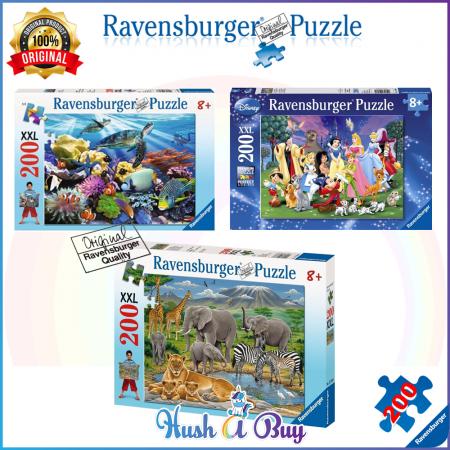 Ravensburger Premium Puzzle 200pcs for 8+ Years (Authentic and Original)