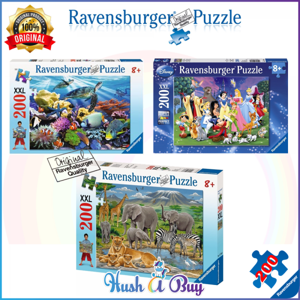 Ravensburger Premium Puzzle 200pcs for 8+ Years (Authentic and Original)
