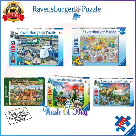Ravensburger Premium Puzzle 100pcs for 6+ Years (Authentic and Original)