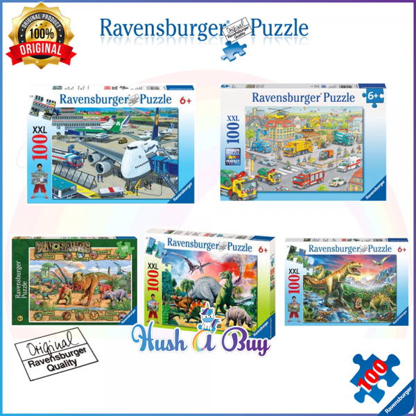 Ravensburger Premium Puzzle 100pcs for 6+ Years (Authentic and Original)