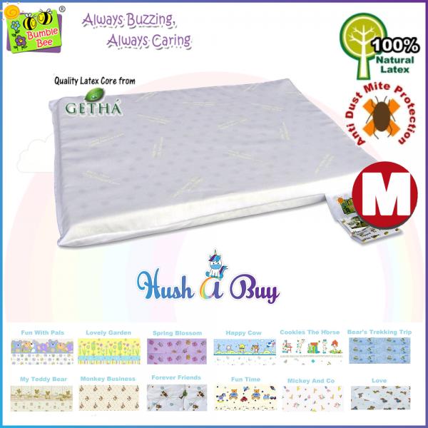 Bumble Bee Infant Latex Pillow / Latek Bantal - Size M
