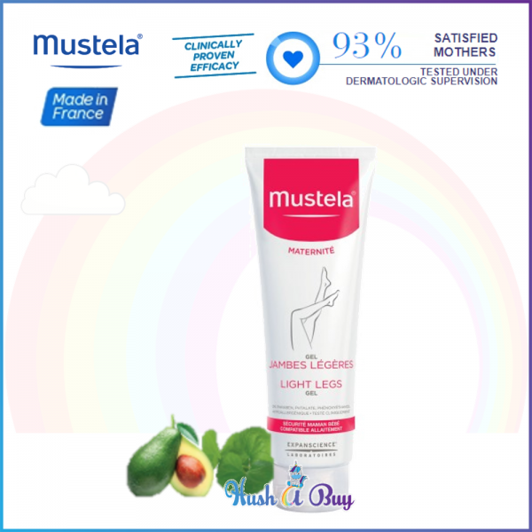 Mustela Light Legs Gel 125 ml