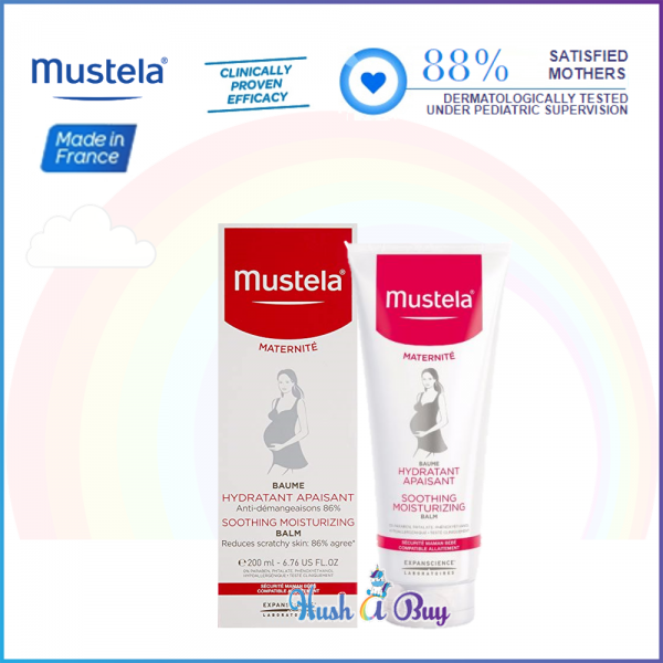 Mustela Soothing Moisturizing Balm 200ml (Reduce Dryness)