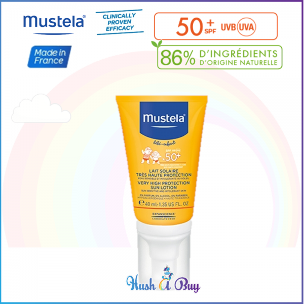 Mustela Very High Protection Face Sun Lotion SPF 50 40ml