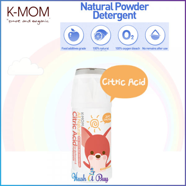 K-MOM Powered Detergent - Citric Acid for Bathroom & Multipurpose 500g