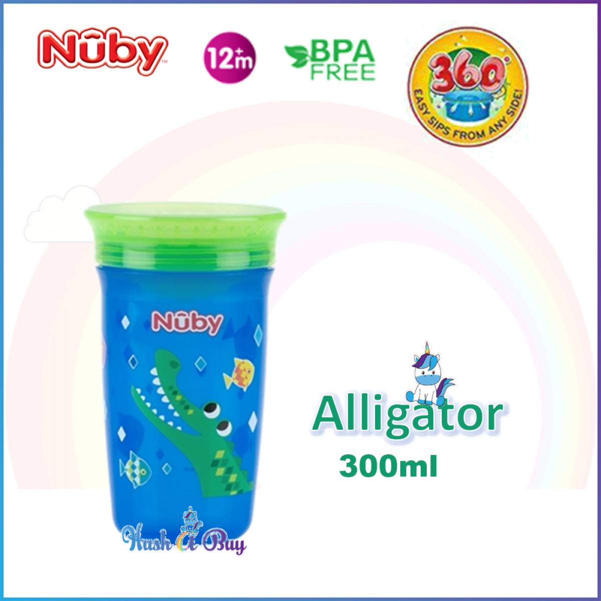 Nuby 360º Wonder Cup 300 ml ( 3 colors available)
