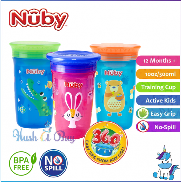 Nuby 360º Wonder Cup 300 ml ( 3 colors available)