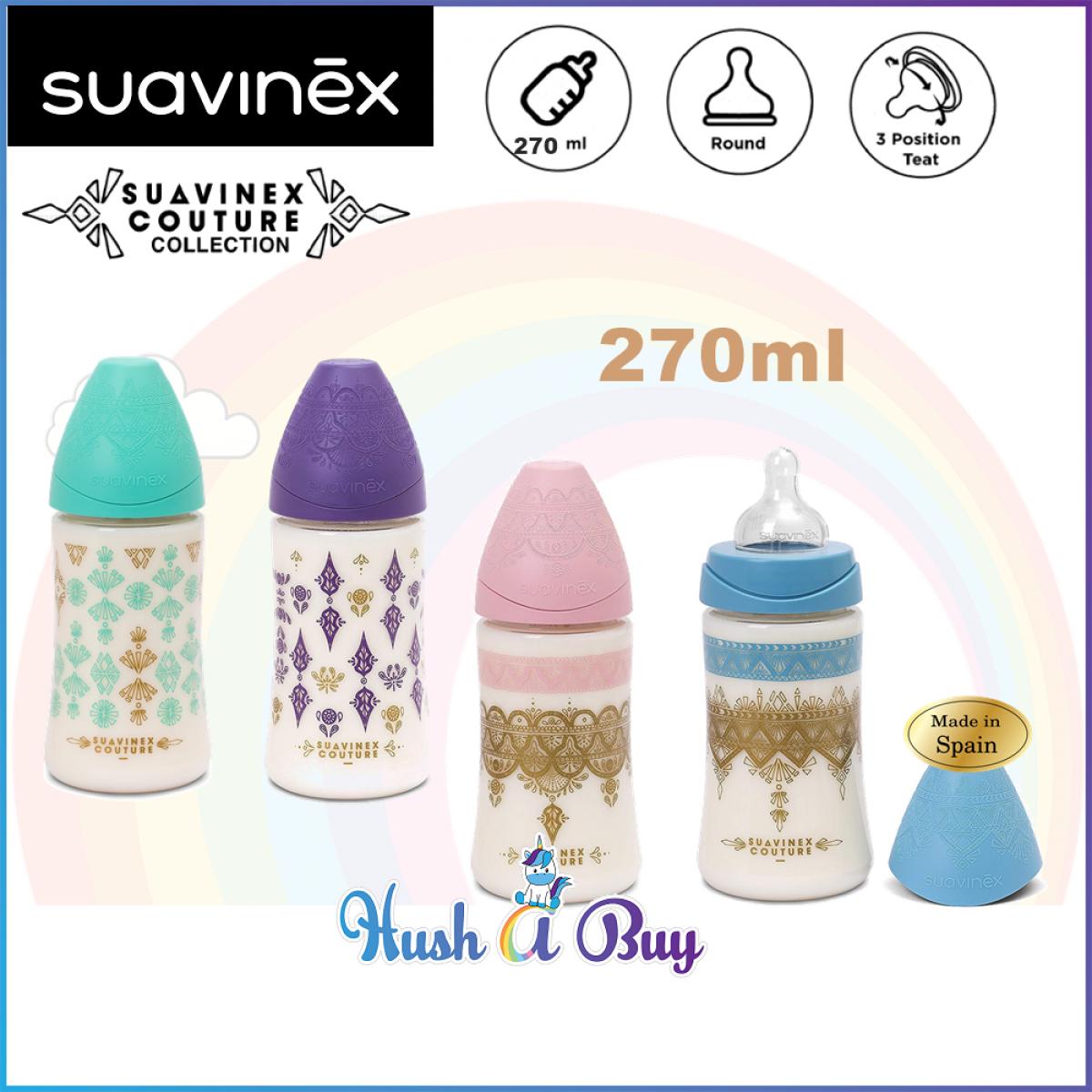 Suavinex Coutour PA Feeding Bottle 0.6M - 270ml