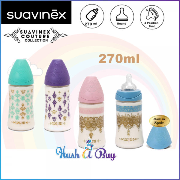 Suavinex Coutour PA Feeding Bottle 0.6M - 270ml