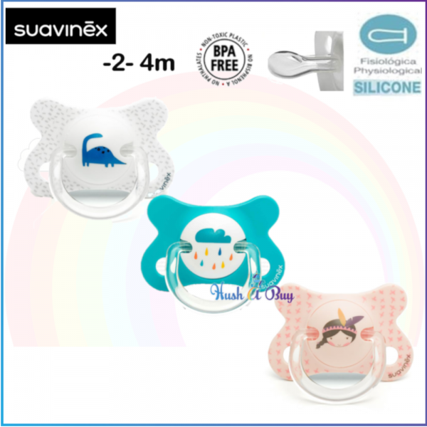 Suavinex Fushion Soother for Newborn -2-4months