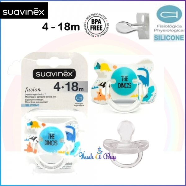 Suavinex Fusion Soother Physiological Silicone 4-18months / Pacifier