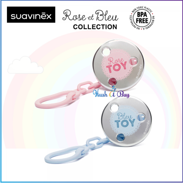 Suavinex S Jewel Soother Clip (Toys)