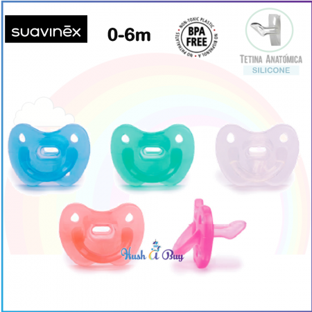 Suavinex Smoothie Full Silicone Anatomical Soother 0-6 months