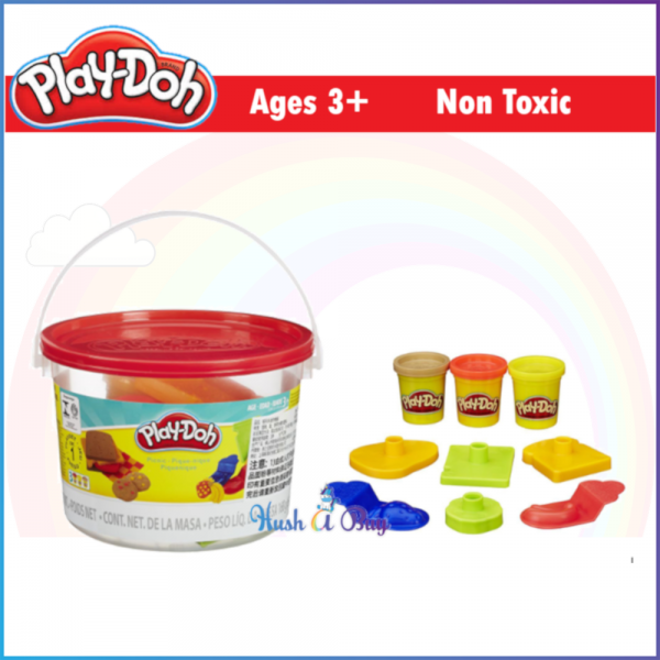 MID-YEAR CLERANCE - Play-Doh Picnic Mini Bucket / Dough / Clay / Playdoh