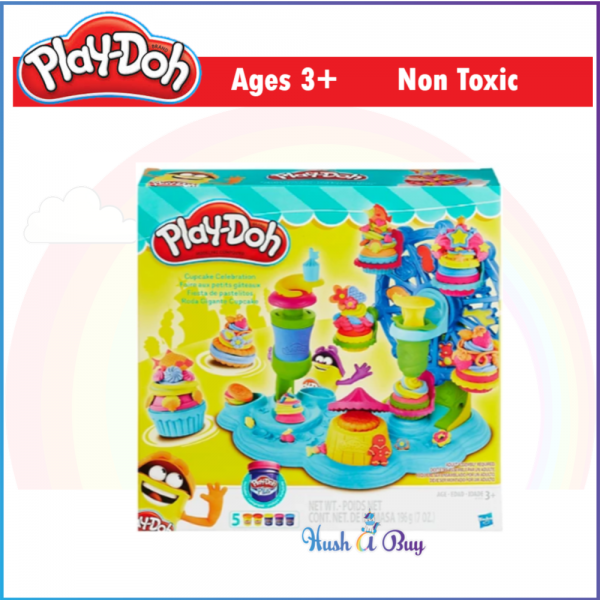 MID-YEAR CLEARANCE - Play-Doh Cupcake Celebration Playset / Dough / Clay / Playdoh