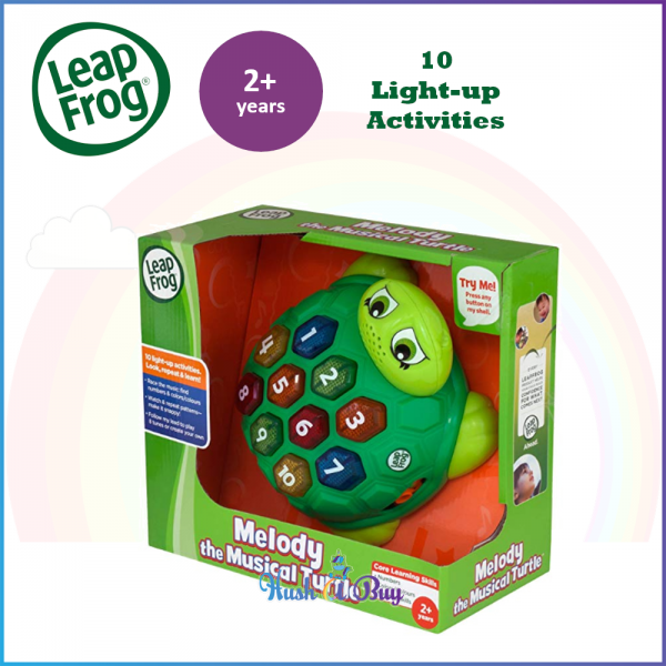 LeapFrog Melody the Musical Turtle / Early Learning / Baby / Toddler