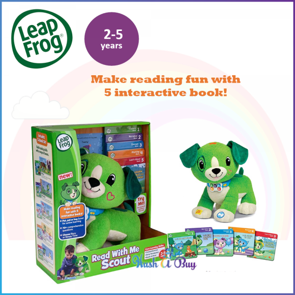 LeapFrog Read with Me Scout 2-5 years old / Early Learning / Chistmas Gift