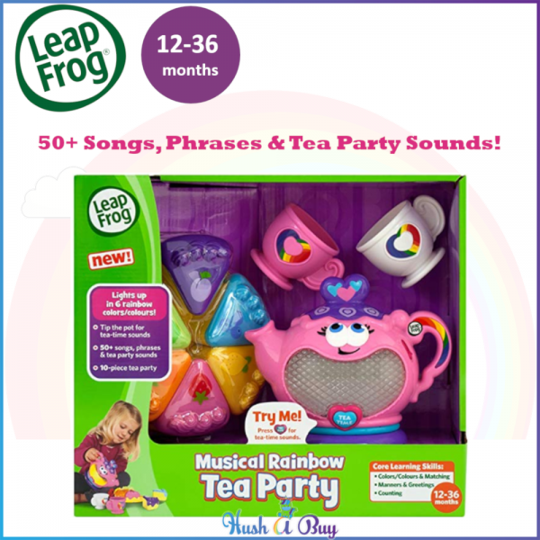 LeapFrog Musical Rainbow Tea Party / Christmas Gift / Early Learning / Musical Toys