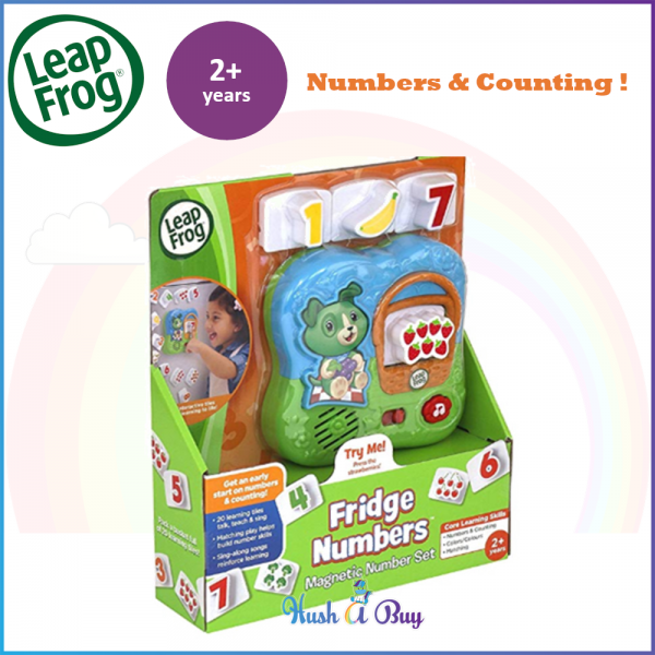 Leapfrog Fridge Numbers Magnetic Set (2-4 Years) Christmas Gift / Early Learning