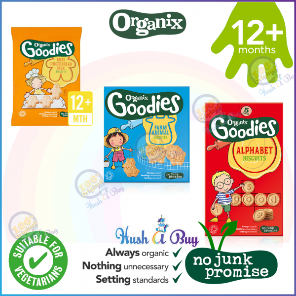 Organix Organic Goodies Finger Food Baby Biscuits for 12+M