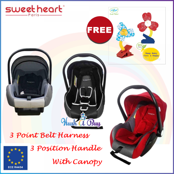 Sweet Heart Paris Car Seat and Carriage