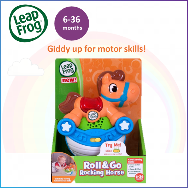 LeapFrog Roll & Go Rocking Horse / Motor Skill / Early Learning / Musical Toys