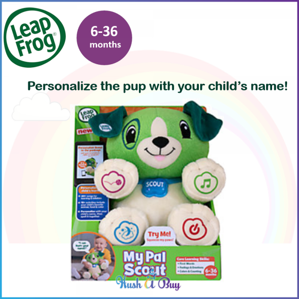 LeapFrog My Pal Scout / Puppy / Gift / Interactive Plush Toys / Early Learning / Award Winning Toys