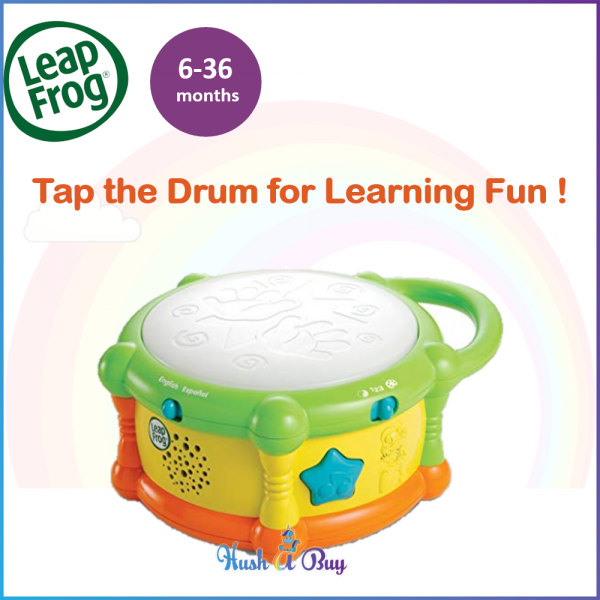 LeapFrog Learn and Groove Color Play Drum / Musical Toys / Gift for Boys
