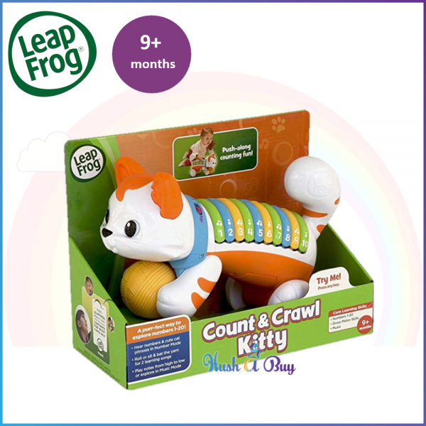 LeapFrog Count & Crawl Number Kitty Musical Toy / Early Learning