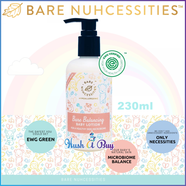 Bare Nuhcessities Balancing Baby Lotion With Probiotics 230ml (Exp: July / 2020)