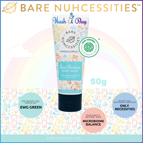 Bare Nuhcessities Barrier Baby Balm 50gm (Exp: March/2020)