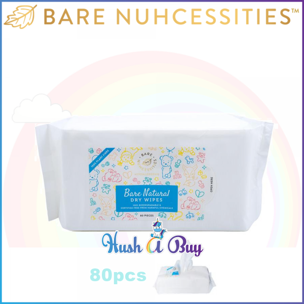 Bare Nuhcessities Bare Natural Dry Wipes / Dry Tissues