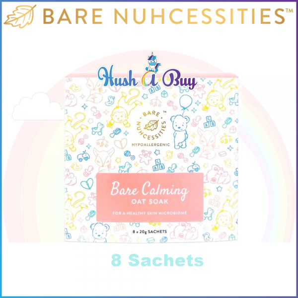 Bare Nuhcessities Bare Calming Oat Soak for Eczema and Sensitive Skin (Exp:April/2020)